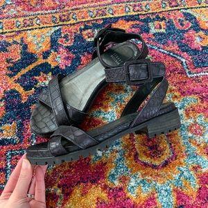 Stuart Weitzman Platform Lug Sole Annexlo Sandals